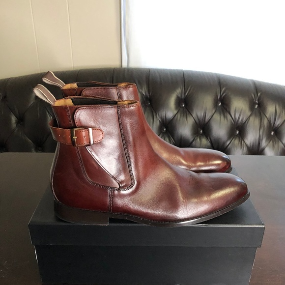 67df77d8323 Cobble   Hyde Other - Cobble   Hyde Kenton Jodhpur Dark Tan Leather Boot